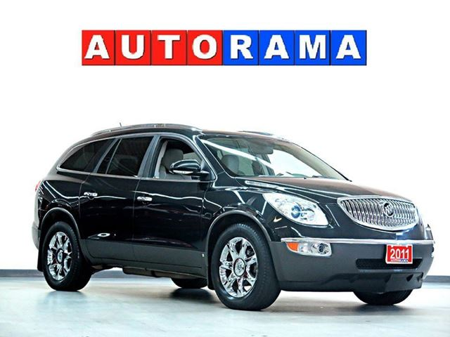 2011 BUICK ENCLAVE NAVIGATION AWD 7 PASSENGER LEATHER PANORAMIC SU in North York, Ontario