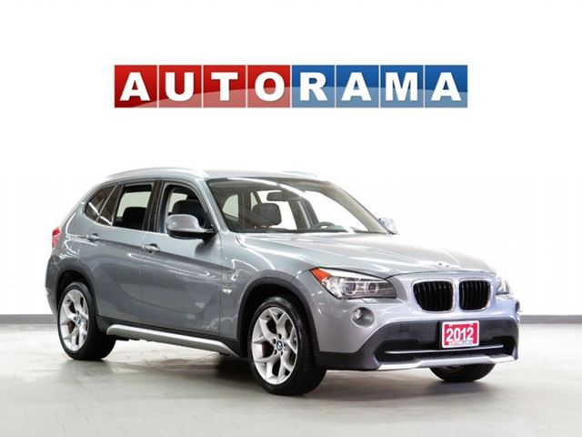 2012 BMW X1 NAVIGATION LEATHER SUNROOF 4WD in North York, Ontario