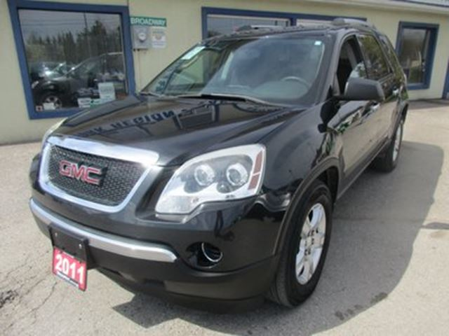 2011 GMC Acadia POWER EQUIPPED SLE MODEL 8 PASSENGER 3.6L - V6. in Bradford, Ontario