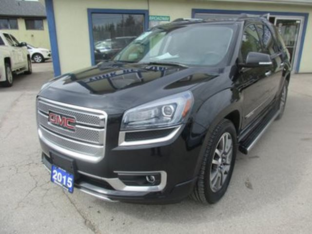 2015 GMC Acadia LOADED DENALI EDITION 7 PASSENGER 3.6L - V6.. A in Bradford, Ontario