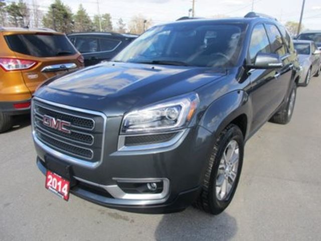 2014 GMC Acadia LOADED SLT MODEL 7 PASSENGER 3.6L - V6.. CAPTAI in Bradford, Ontario