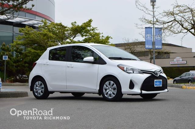 2015 Toyota Yaris 5dr Hatch Back Bluetooth Connection, Climate Co in Richmond, British Columbia