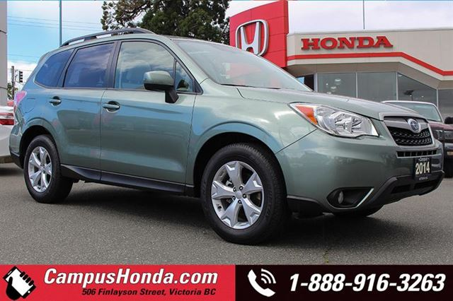 2014 SUBARU FORESTER 2.5i Touring AWD in Victoria, British Columbia