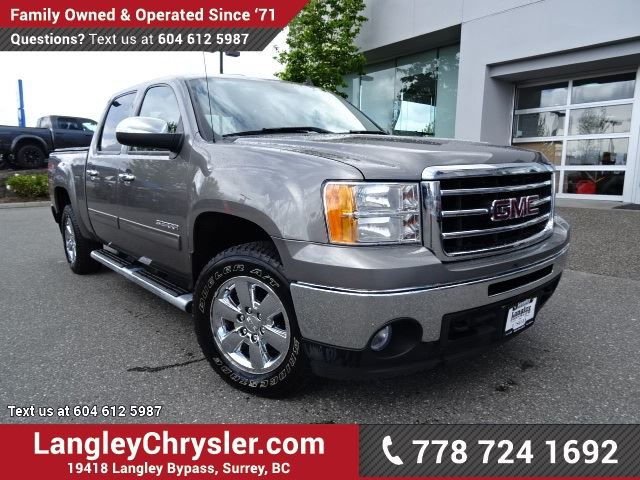 2012 GMC SIERRA 1500 SLE W/ 4X4, TOW PACKAGE & BLUETOOTH in Surrey, British Columbia