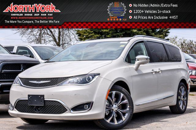 2017 Chrysler Pacifica New Car Limited KeySense SafetyTec,Tow,Tire,Theatre,Pkgs 20Alloys  in Thornhill, Ontario