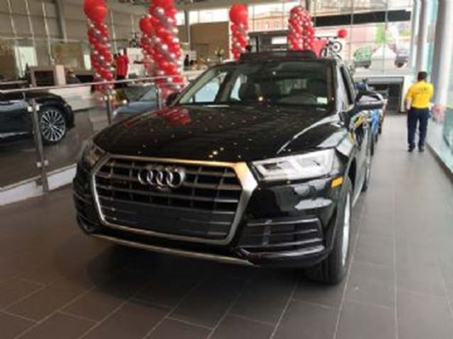 2018 Audi Q5 ALMOST SOLD OUT ALL NEW 2018 Q5 AVAILABLE FOR SALE! in Mississauga, Ontario