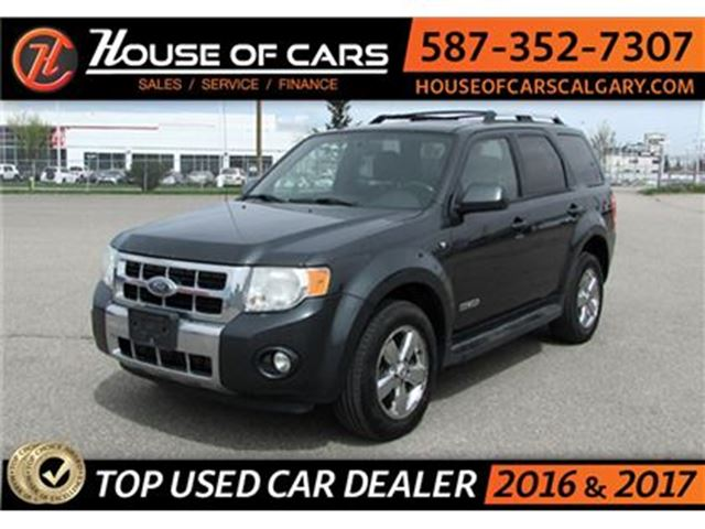 2008 Ford Escape Limited 3.0L / 4X4 / Leather Seats in Calgary, Alberta