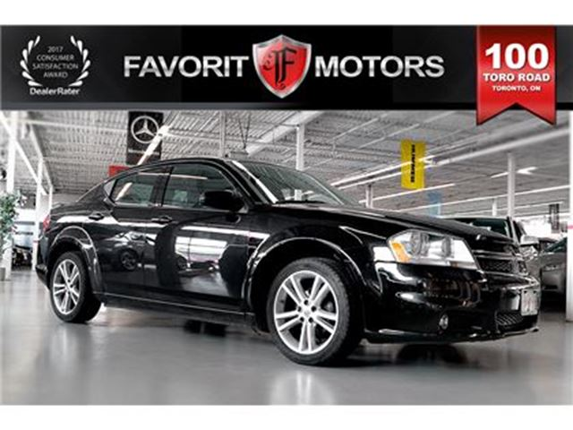 2012 Dodge Avenger SXT   PWR DRIVER SEAT   HEATED SEATS in Toronto, Ontario