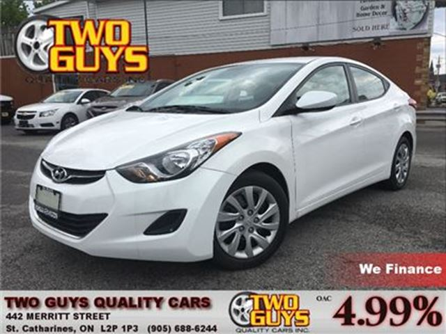 2013 HYUNDAI ELANTRA GL Bluetooth   Htd Seats   Cruise Contro in St Catharines, Ontario