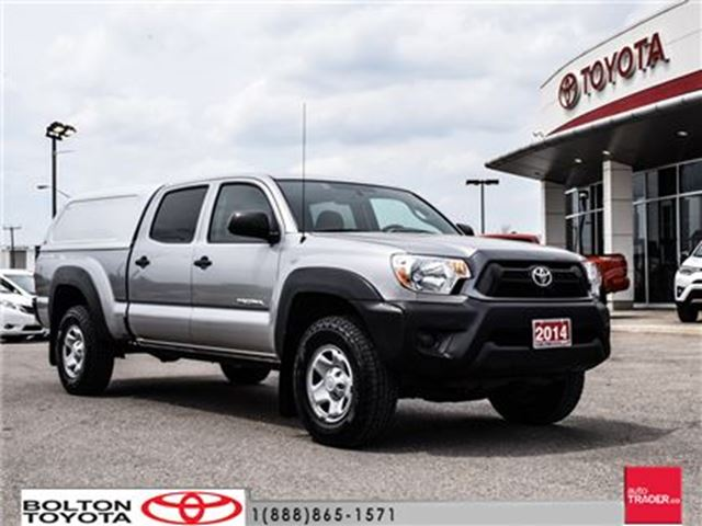 2014 Toyota Tacoma 4x4 Dbl Cab V6 5A in Bolton, Ontario