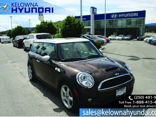 2008 MINI COOPER Base 3dr Station Wagon in Kelowna, British Columbia