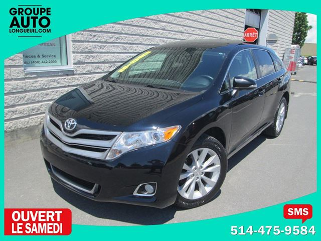 2013 Toyota Venza *AWD*CUIR*TOIT PANO*NOIR* in Longueuil, Quebec