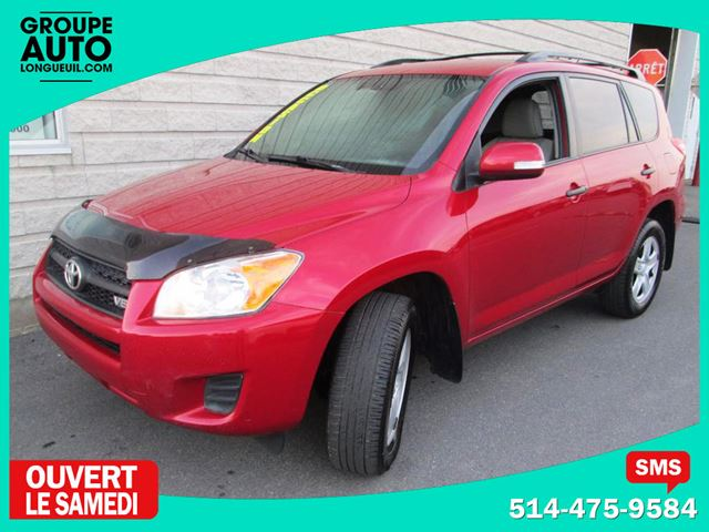 2010 Toyota RAV4 *AWD*AUTO*V6*ROUGE*A/C* in Longueuil, Quebec