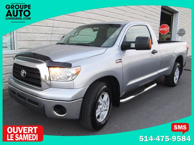2008 Toyota Tundra DLX*4X4*V8*A/C*MAGS*BOITE 8 PIEDS* in Longueuil, Quebec