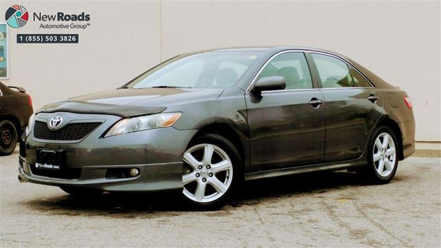 2007 TOYOTA CAMRY SE, LEATHER, ROOF, ONE OWNER in Newmarket, Ontario