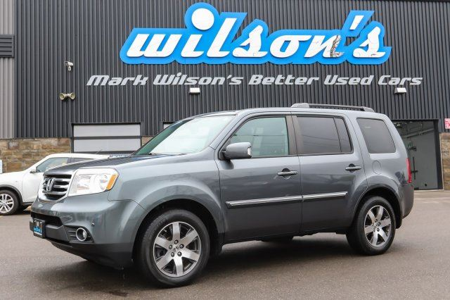2013 HONDA PILOT TOURING 4WD! $115/WK, 4.74% ZERO DOWN! 8-PASSENGER! LEATHER! NAVIGATION! SUNROOF! POWER+HEATED SEATS in Guelph, Ontario