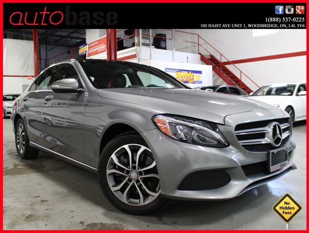 2015 mercedes benz c class c300 4matic navigation for Average insurance cost for mercedes benz c300