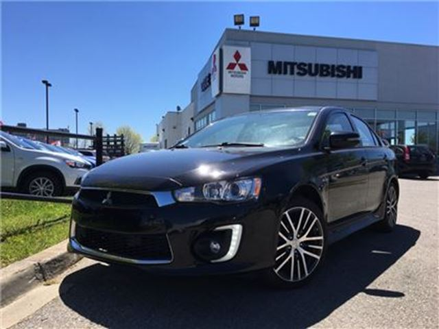 2017 MITSUBISHI LANCER GTS AWC -  Leather, Fosgate, Roof, Loaded in Mississauga, Ontario