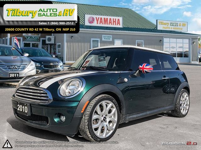 2010 MINI Cooper Base with moonroof in Tilbury, Ontario