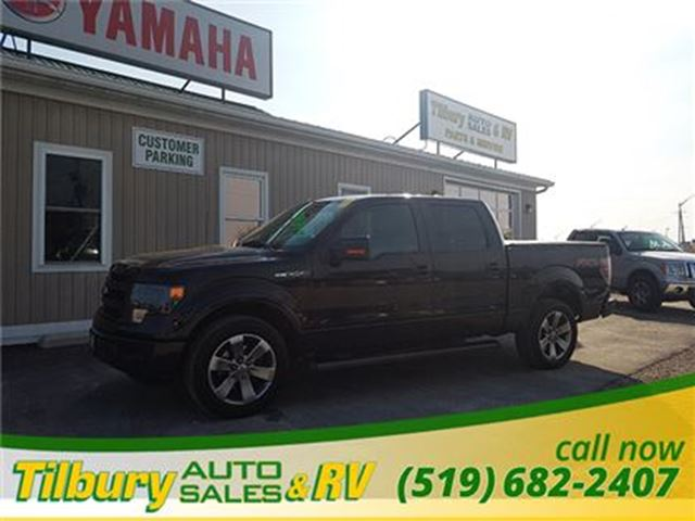 2013 Ford F-150 FX2 **Leather Interior - Navigation** in Tilbury, Ontario