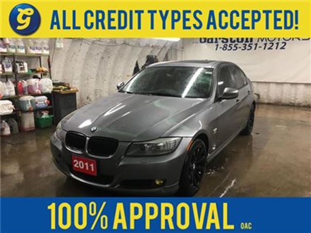 2011 BMW 3 Series 328 328xi*AWD*NAVIGATION*LEATHER*POWER SUNROOF*ALLOYS* in Cambridge, Ontario