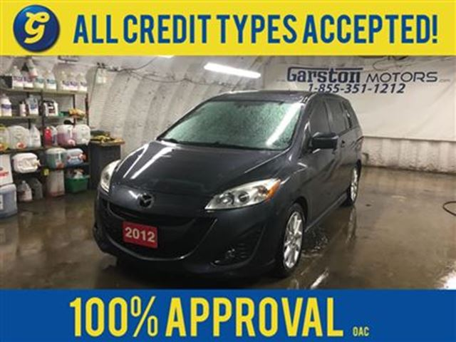 2012 MAZDA MAZDA5 GT*LEATHER*POWER SUNROOF*PHONE CONNECT*HEATED FRON in Cambridge, Ontario
