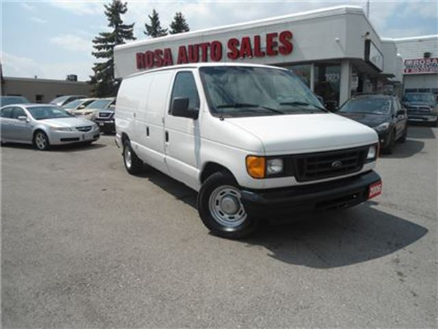 2006 FORD E-150  CARGO AUTO A/C LOW KM NO RUST SAFETY ETEST POWER W in Oakville, Ontario