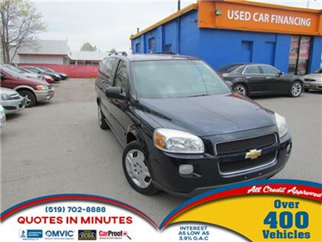 2007 Chevrolet Uplander LT1   DVD   ROAD TRIP READY   AS-IS in London, Ontario