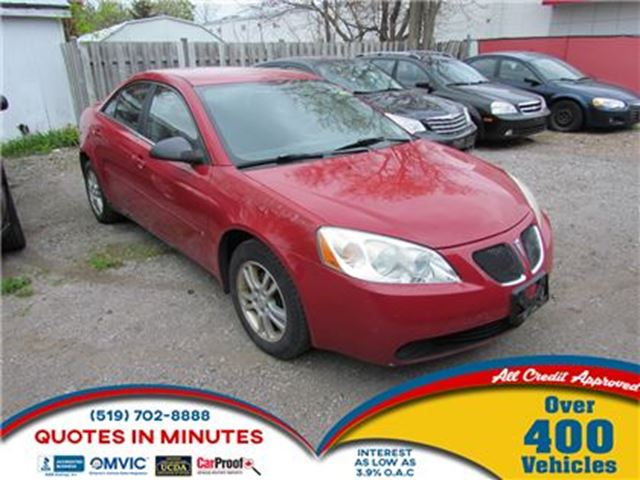 2006 PONTIAC G6 V6   AS-IS SPECIAL in London, Ontario