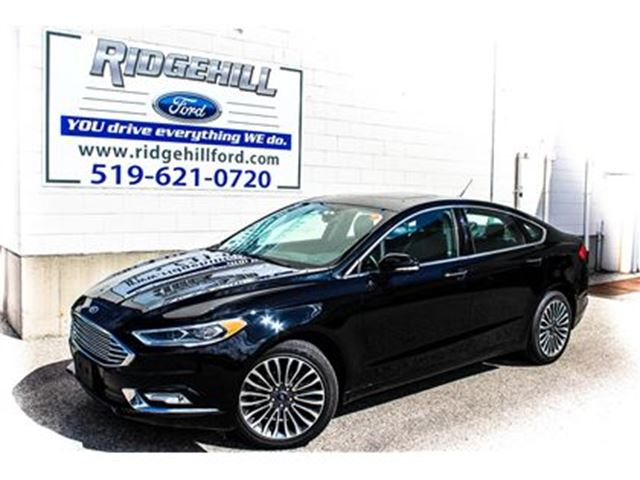 2017 Ford Fusion SE  AWD  NAVIGATION  LEATHER  SUNROOF in Cambridge, Ontario