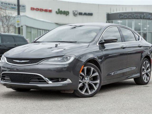 2016 CHRYSLER 200 C, PANO ROOF, NAVI, LEATHER in Mississauga, Ontario