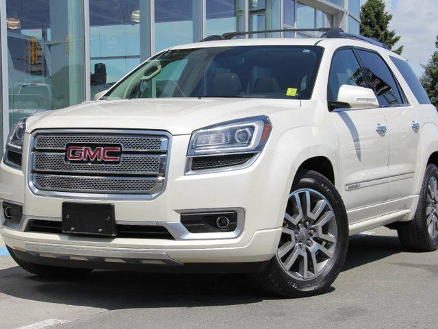 used 2014 gmc acadia denali kamloops. Black Bedroom Furniture Sets. Home Design Ideas