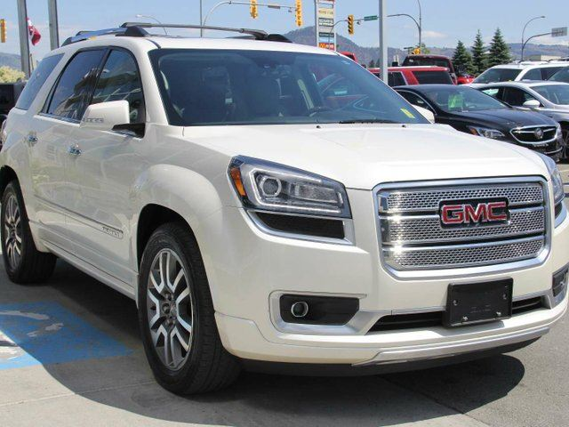 used 2014 gmc acadia certified denali package 7 passenger navigation accident free. Black Bedroom Furniture Sets. Home Design Ideas