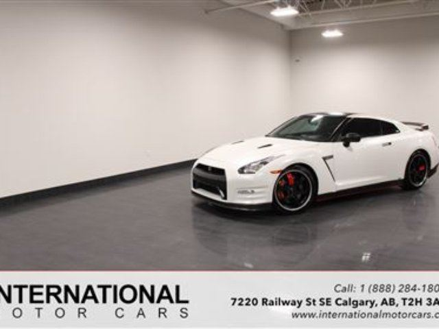 2012 Nissan GT-R BLACK EDITION *LOWEST PRICE IN CANADA* in Calgary, Alberta