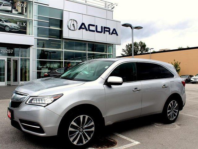 2015 ACURA MDX Navigation at in Surrey, British Columbia