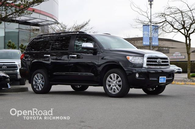 2016 Toyota Sequoia Entertainment System, Navi, Leather Interior w/ in Richmond, British Columbia