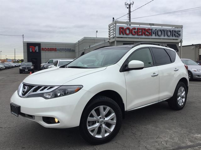 2014 NISSAN MURANO SV AWD - PANO ROOF - REVERSE CAM in Oakville, Ontario