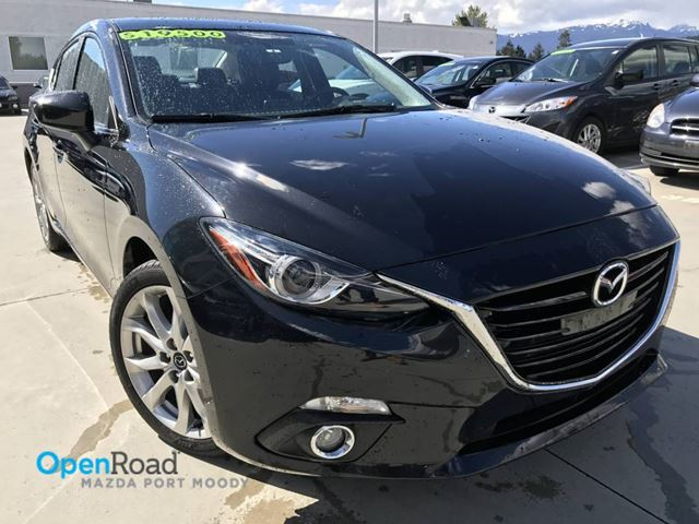 2014 MAZDA MAZDA3 GT-SKY A/T Local Bluetooth Leather Sunroof Navi in Port Moody, British Columbia