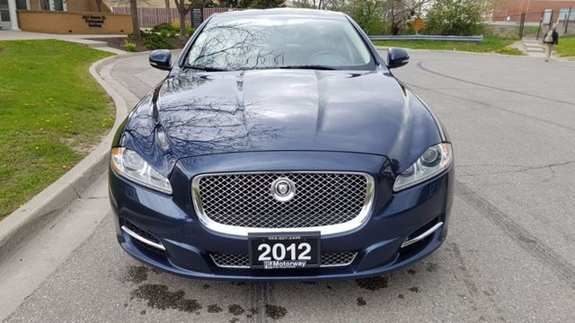 2012 Jaguar XJ Series XJ XJL Supercharged DVD in Mississauga, Ontario