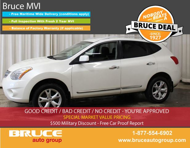 2011 NISSAN ROGUE SL 2.5L 4 CYL CVT AWD in Middleton, Nova Scotia