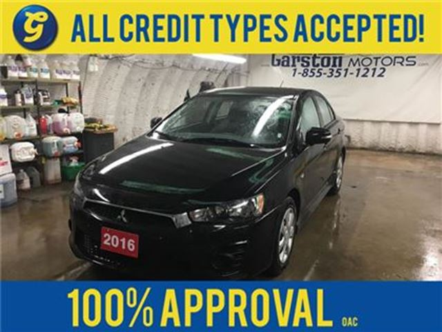 2016 MITSUBISHI LANCER SE*CVT*PHONE CONNECT*HEATED SEATS*BACK UP CAMERA*C in Cambridge, Ontario