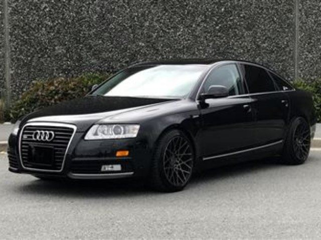 2010 AUDI A6 3.0 at Qtro Sdn Rotiform Wheels in North Vancouver, British Columbia