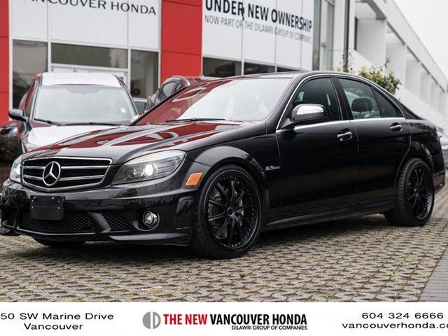 Used 2009 mercedes benz c class sedan vancouver for Mercedes benz c class 2009