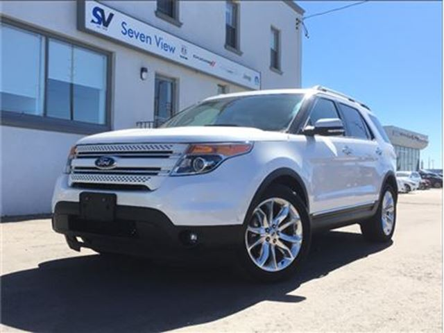 2015 Ford Explorer Limited Navigation, Leather, Sunroof !! in Concord, Ontario