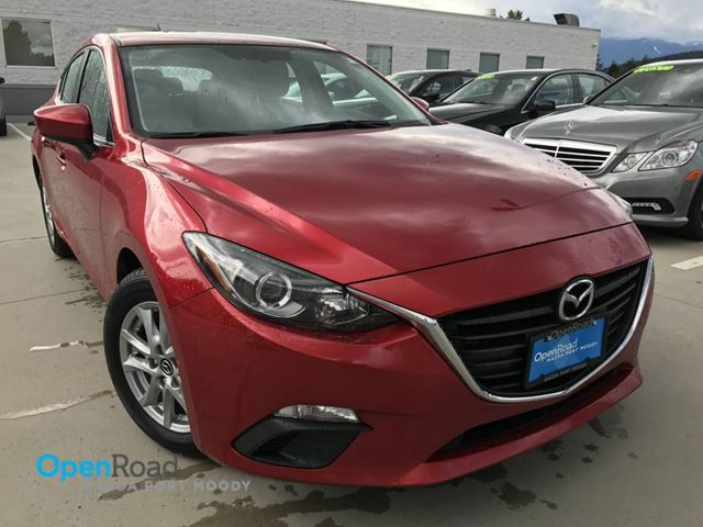2014 MAZDA MAZDA3 GS-SKY HB Local Bluetooth Rearview Cam Curise C in Port Moody, British Columbia
