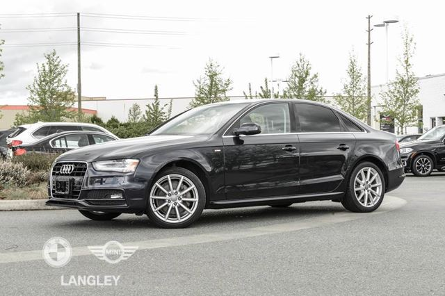 2015 AUDI A4 S-Line Local  in Langley, British Columbia