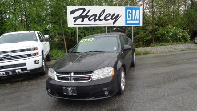 2013 DODGE AVENGER SXT in Sechelt, British Columbia