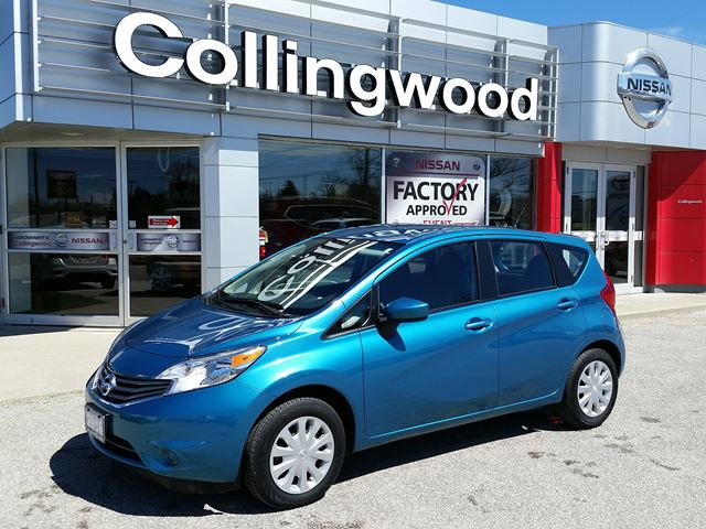 2016 Nissan Versa SV *COMPANY DEMO* in Collingwood, Ontario