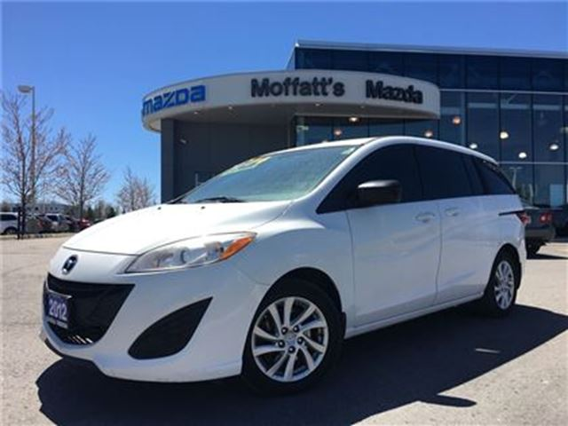 2012 Mazda MAZDA5 GS BLUETOOTH, CRUISE, ALLOY RIMS, SEATS 6 in Barrie, Ontario