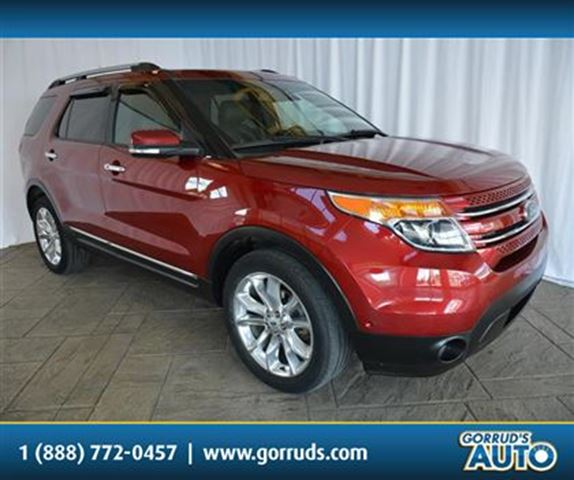 2013 Ford Explorer LTD/4X4/AWD/PANORAMIC ROOF/LEATHER/NAV in Milton, Ontario